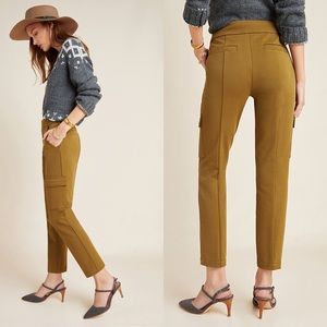 Anthropologie | NWT Essential Knit Cargo Pant Moss
